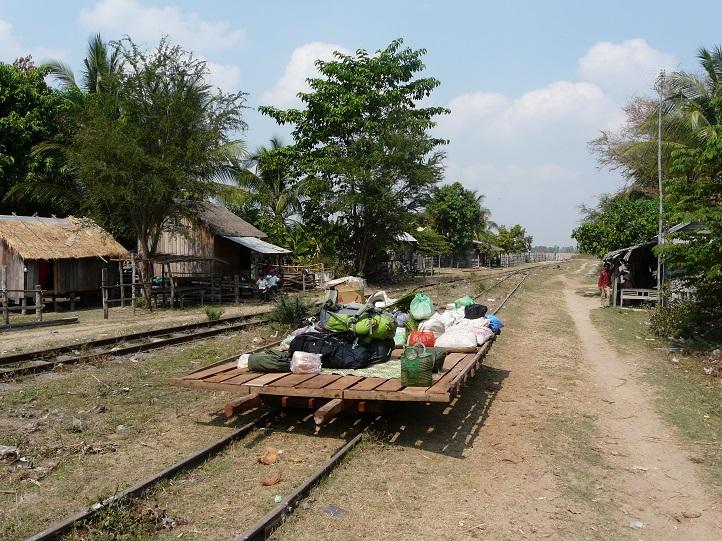 Železnice v Kambodži