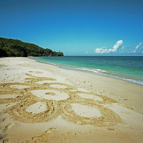 pláž jižně od Bajawa