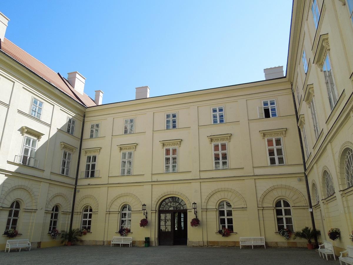 Nádvoří zámku v Boskovicích