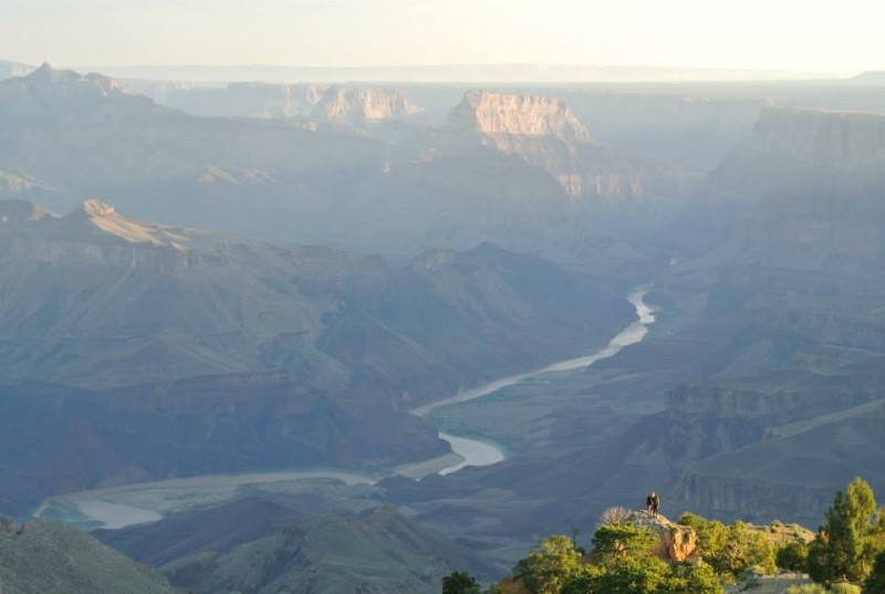 Grand Canyon, pohled na Colorado