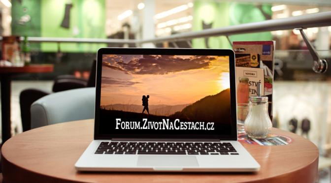 Nové diskuzní fórum o cestování na adrese: Forum.ZivotNaCestach.cz
