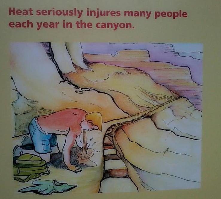 Horko v canyonu není radno podcenit.