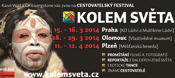 22. cestovatelský festival Kolem světa 2014