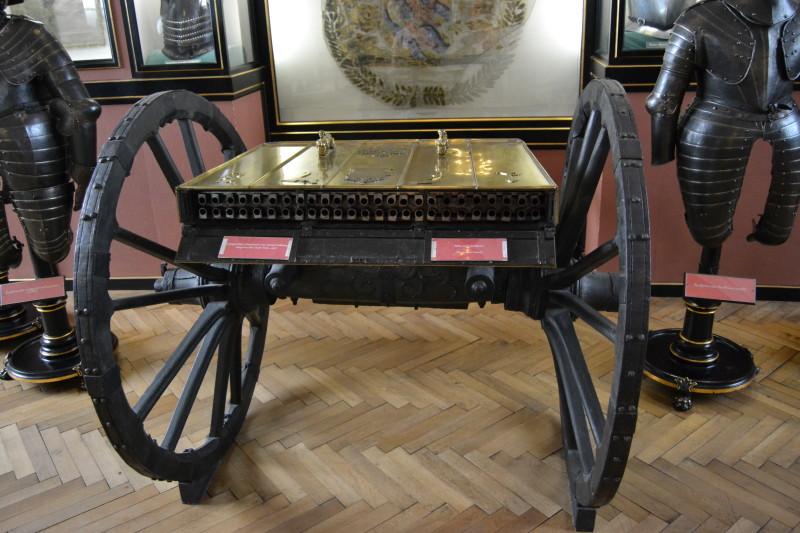 Jeden z prvních pokusů o kulomet z 17. století