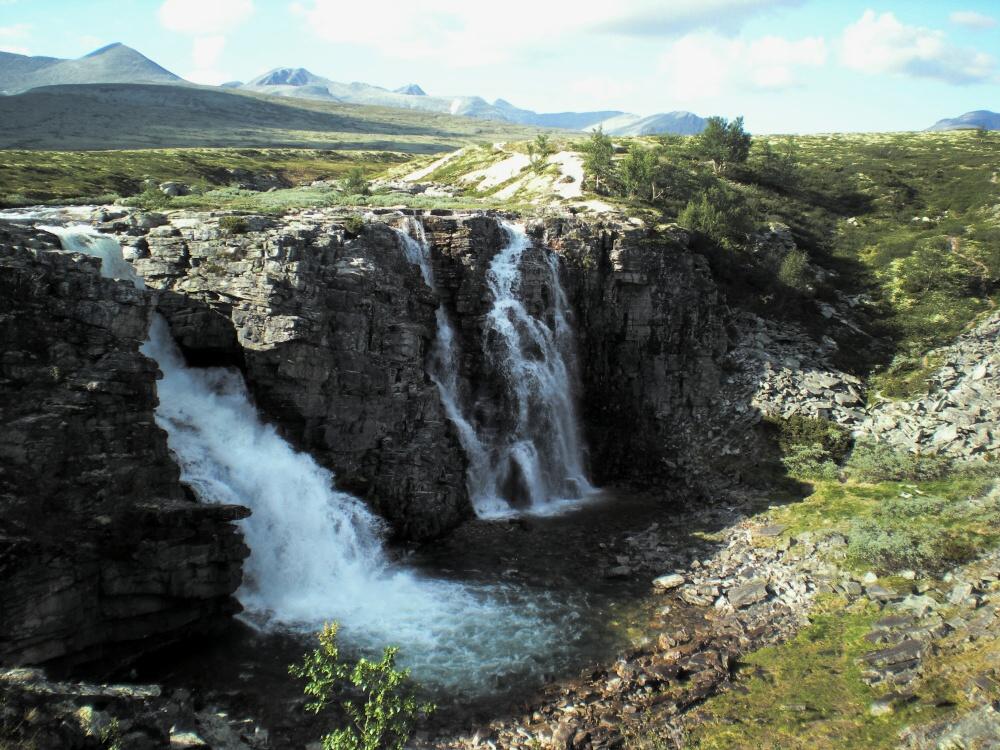 Vodopád Storulfossen