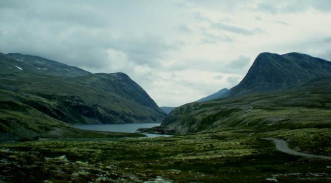 Národní park Rondane, trasa Mysuseter-Rondvassbu, Norsko