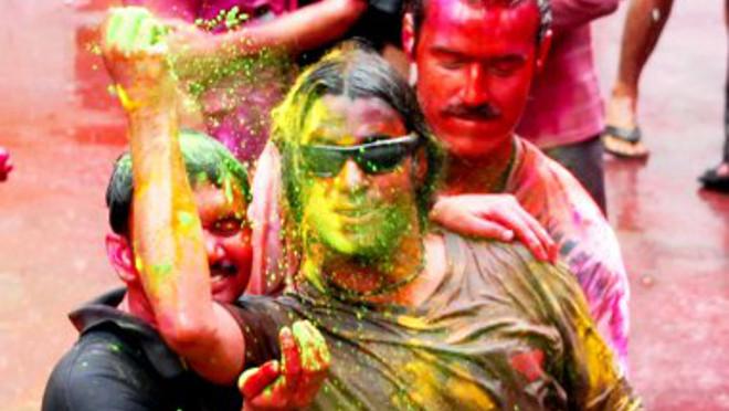 Holi, indický svátek barev, Indie