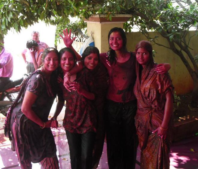 Oslavy Holi v Indickém Hyderabadu Autorka: Geetanjali Uparity