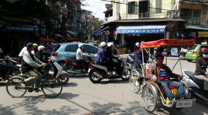Kuriozity a další postřehy z dopravy ve Vietnamu