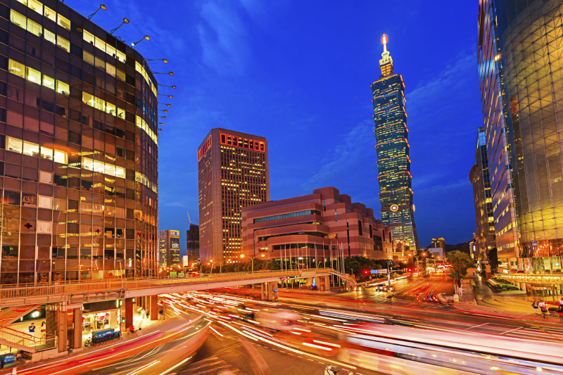 Dopravní situace v Tchaj-pej