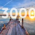 ŽivotNaCestách.cz - 3000 lajků na Facebooku