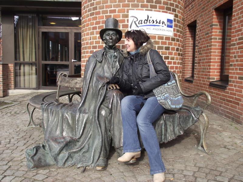 Hans Christian Andersen v Odense