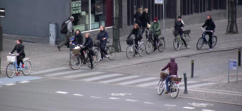 Odense - cyklistika je součástí každodenního života místních