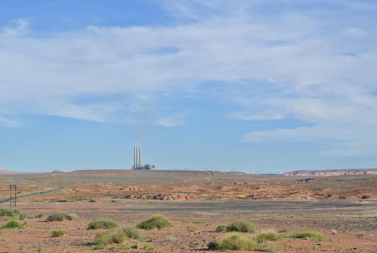 Antelope park, Arizona, elektrárna