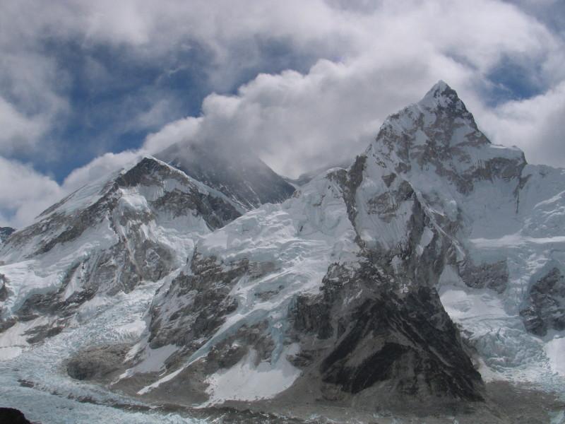 Kalla Pathar, pohled na Everest.