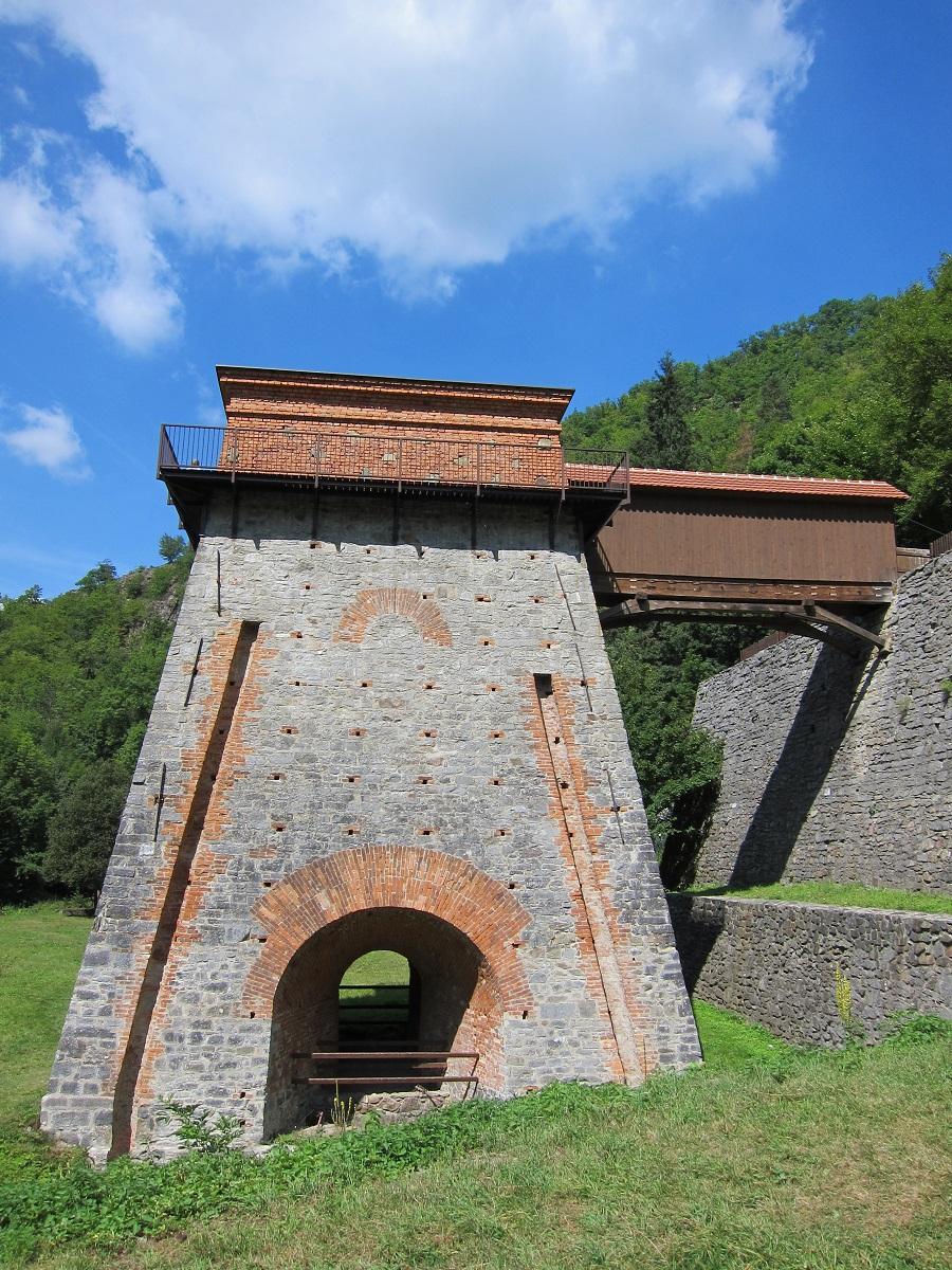 Huť Františka (Stará huť u Adamova), dřevouhelná železářská pec