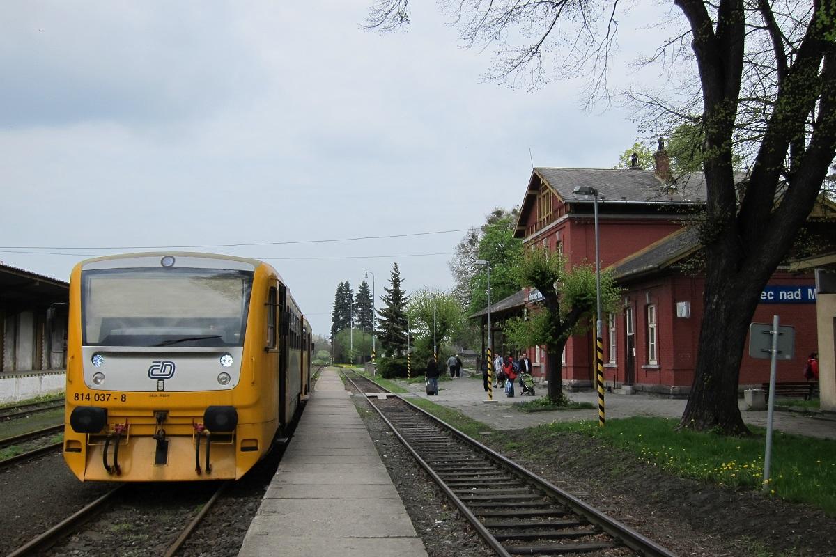 Vlakové nádraží,  Hradec nad Moravicí
