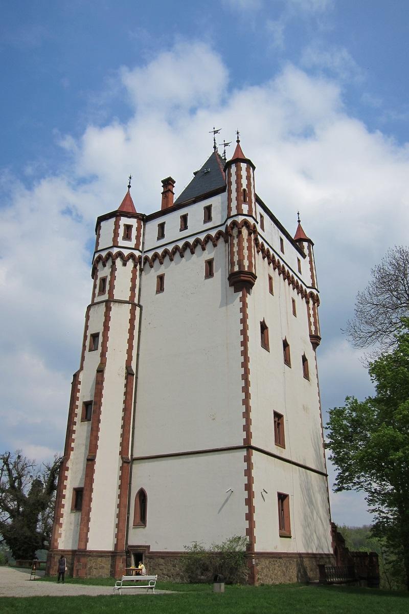 Bílá věž, zámek Hradec nad Moravicí
