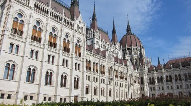 Budova parlamentu, Budapešť, Maďarsko