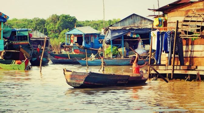 Jezero Tonlé Sap, Kambodža