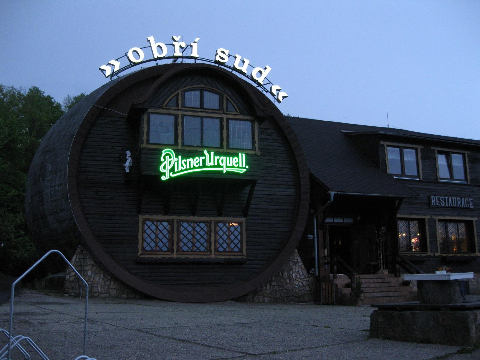 Restaurace Obří sud, Lázně Libverda