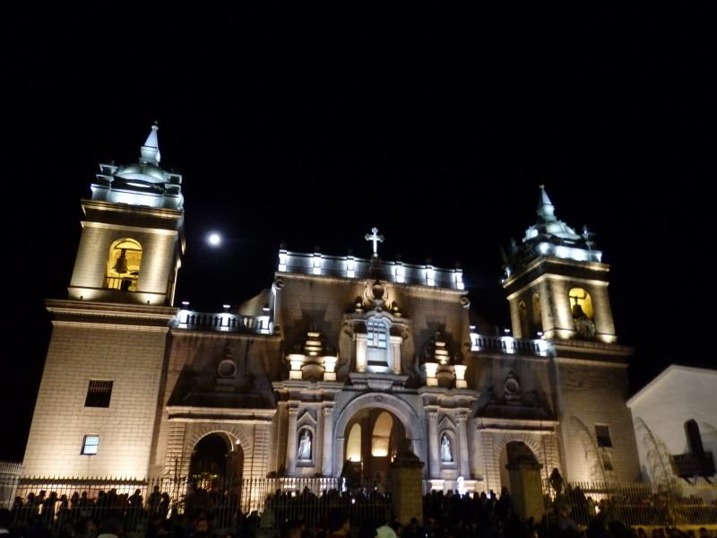 Katedrála v Ayacuchu