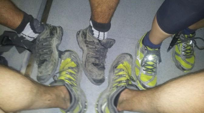 150 km pěšky bez spánku. Jak se chová tělo?