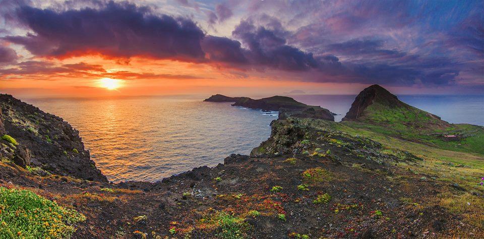 Ponta de Sao Lourenço, Madeira, Portugalsko