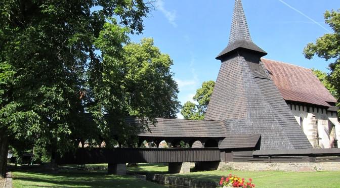 Dřevěný kostelík v Kočí, Pardubický kraj, Česká republika