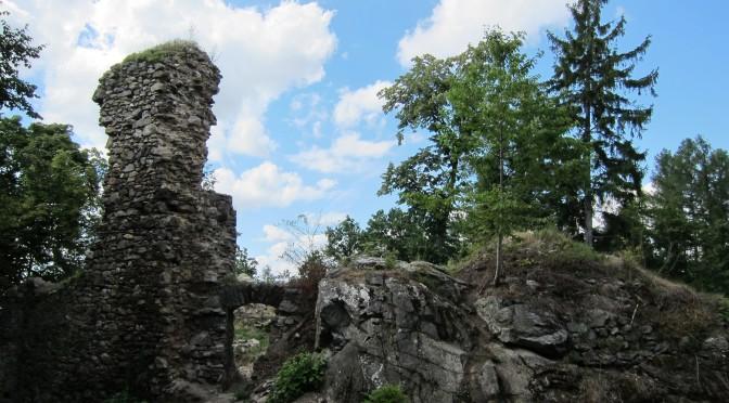 Zřícenina Rabštejnek, Pardubický kraj, Česká republika