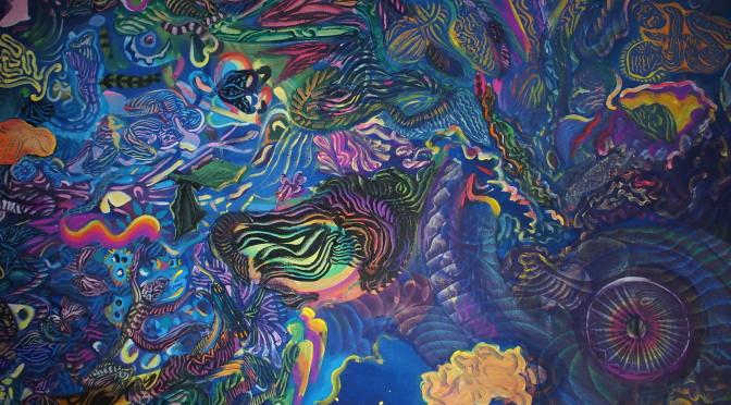 """Pozvánka na výstavu """"Metaformy pralesa"""" OTTO PLACHT"""