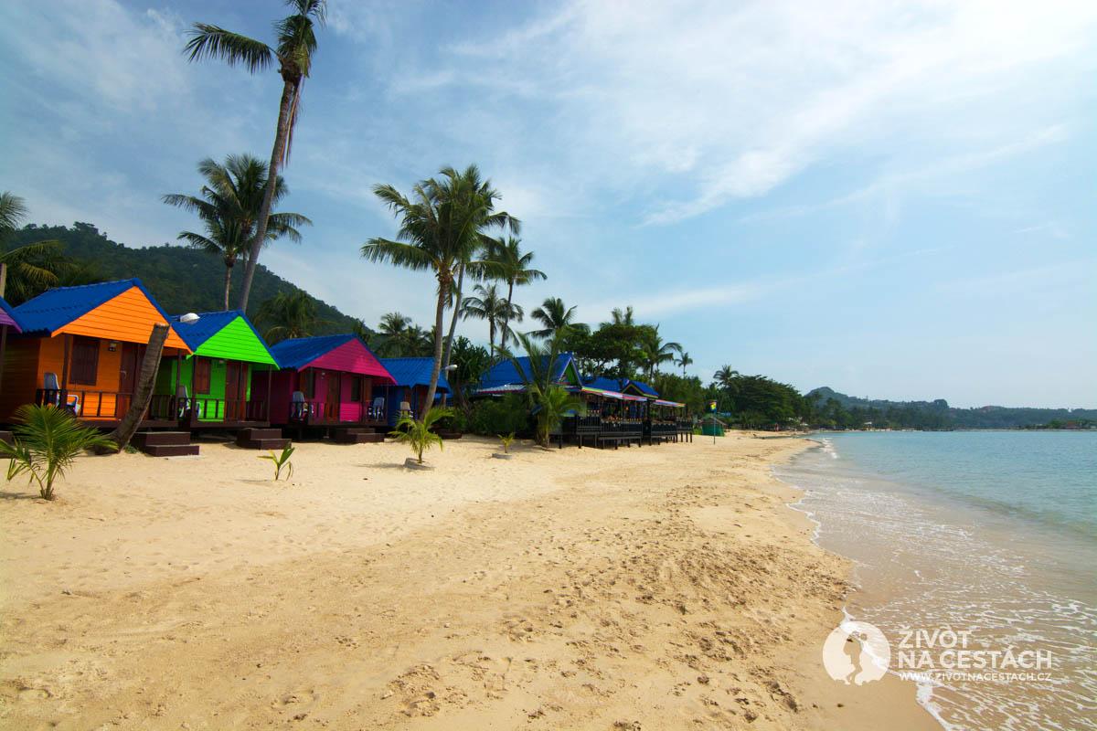 New Hut Bungalov, Ko Samui, Thajsko