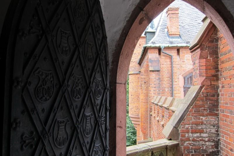 Račte vstoupit a navštívit zámecké věže a ochozy, Hradec nad Moravicí
