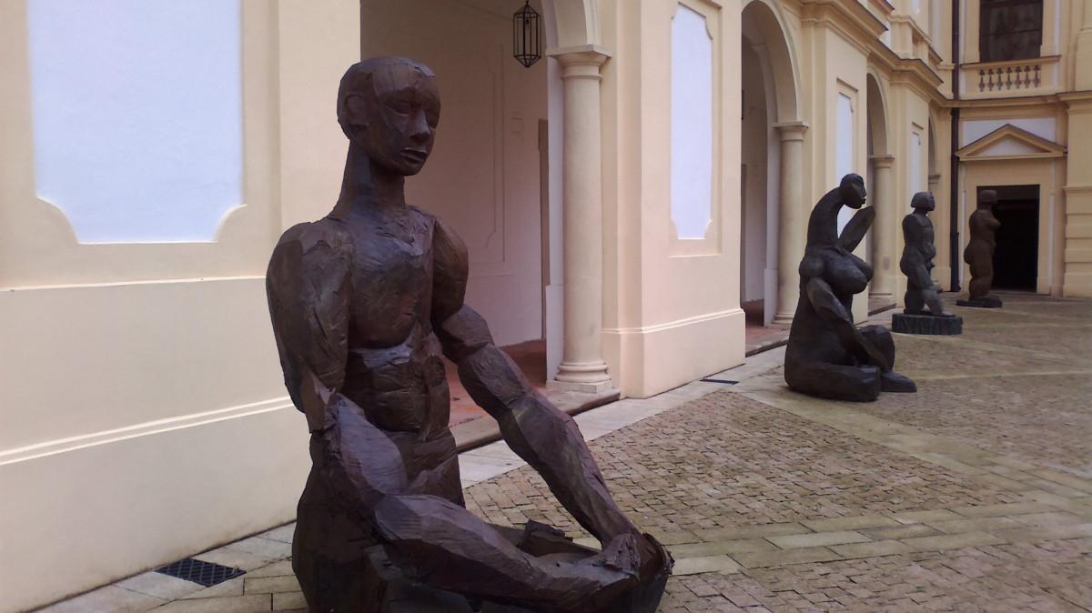 Sochy Dietricha Klingeho, Slavkov