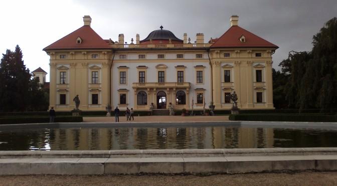Zámek Slavkov u Brna, Jihomoravský kraj, Česká republika