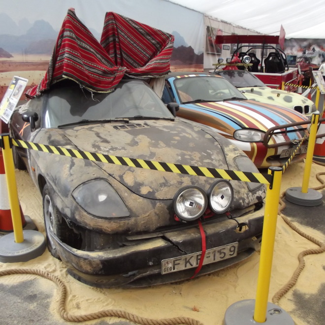 Fiat Barchetta z Afrického speciálu Top Gear