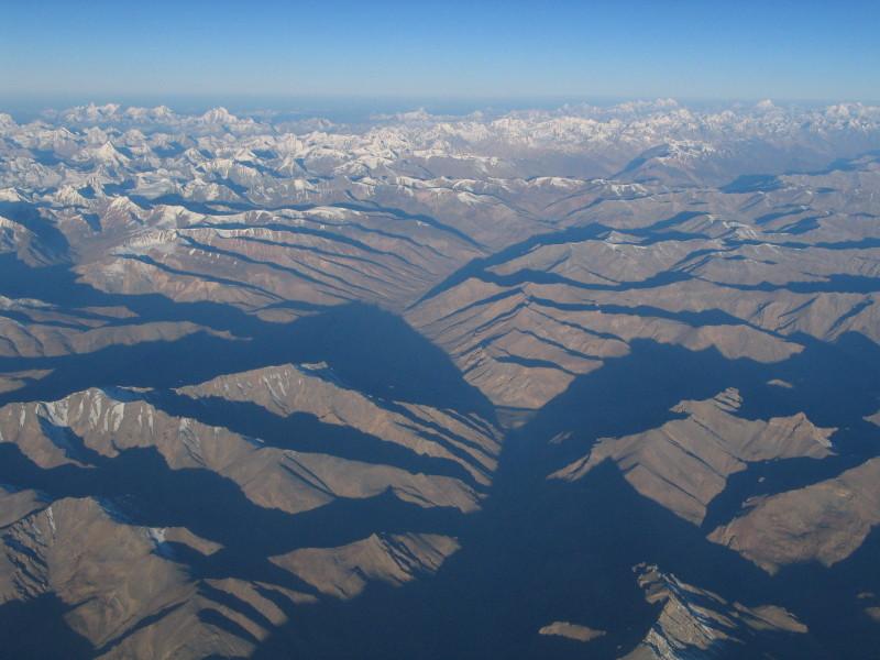 Let nad Ladakhem.