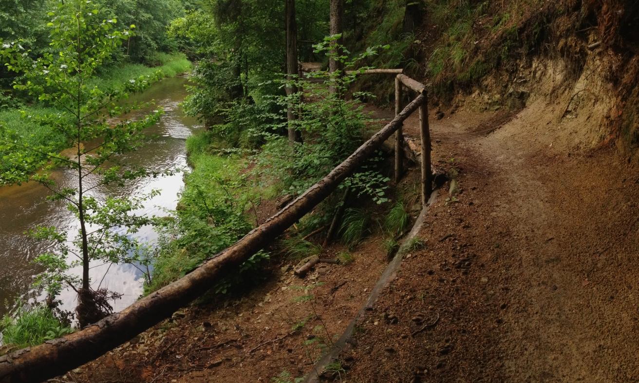 Trail Černý potok