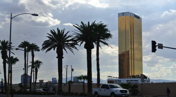 Realita zábavy, kasín a kabaretů v Las Vegas