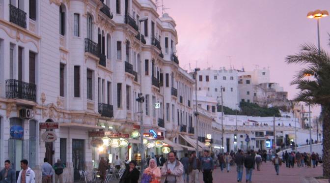Život města Tanger, brány do Maroka