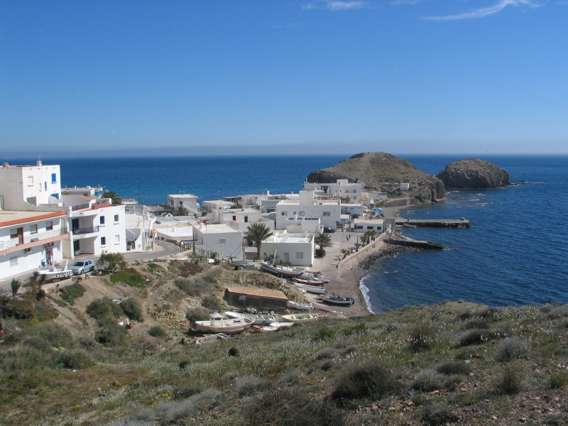 Vesnička La Isleta del Moro.