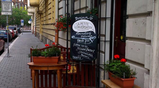 Sandwicherie a kavárna