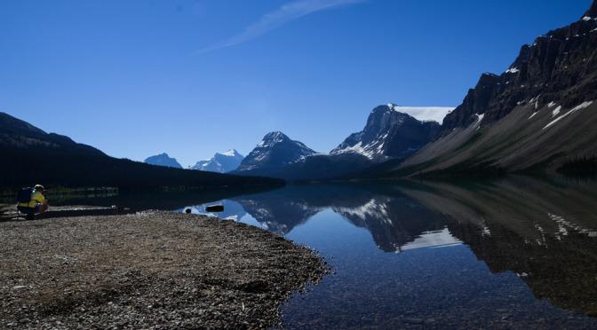 Bow Lake Banff