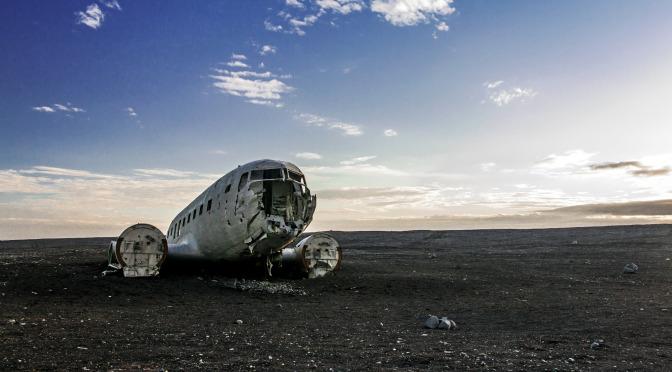 Na Island za vrakem letadla Douglas DC-3 Dakota