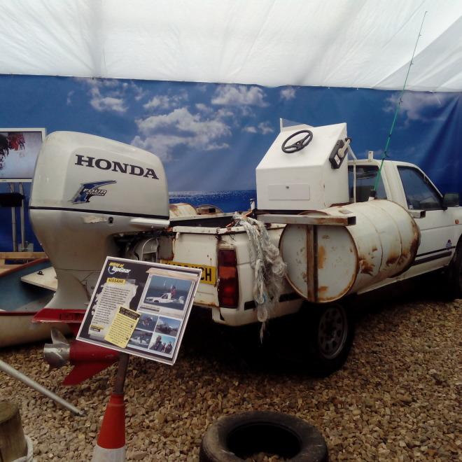 Nissan Patrol který přeplula i kanál La Manche!