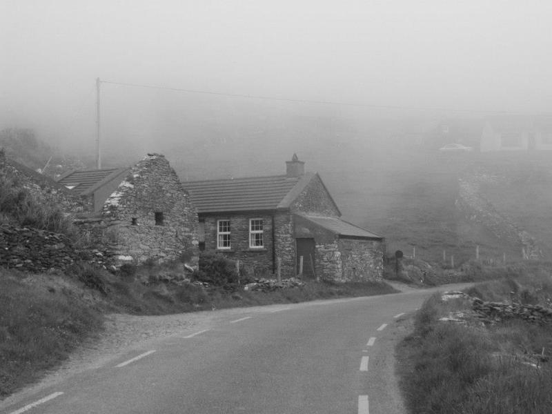 Romantická vesnička Dunquin.
