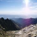 Ls Galayos z výšky, cestou k vrcholu La Mira