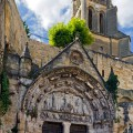 Monolitický kostel v Saint-Émilion