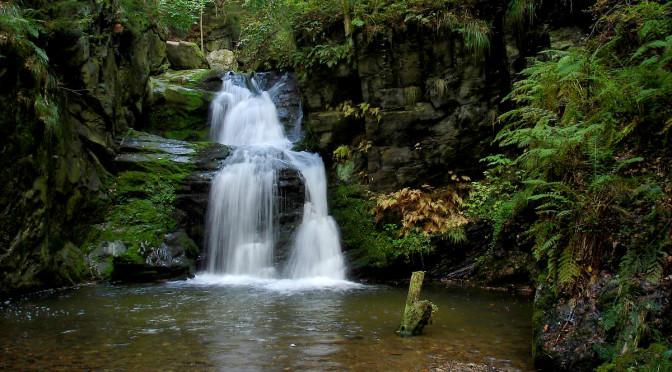 Rešovské vodopády, Moravskoslezský kraj, Česká republika