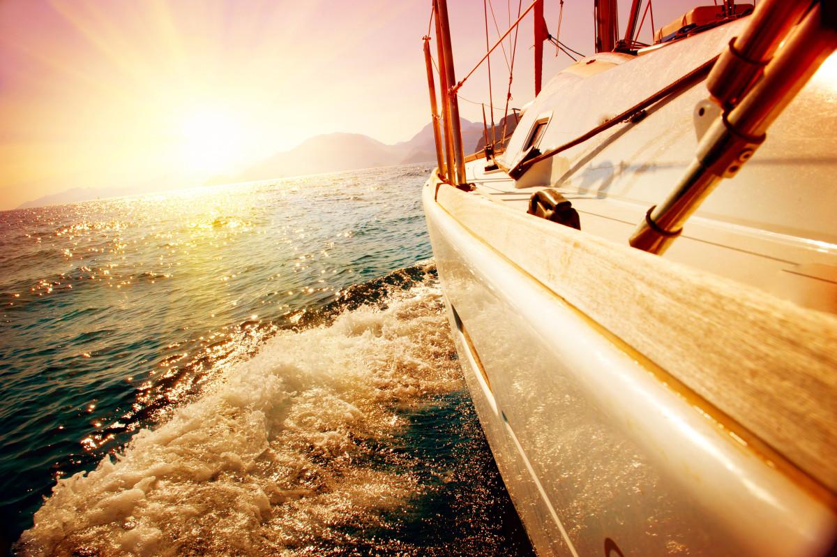 Cestování, loď, moře